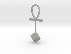 Cube energy pendant in Aluminum