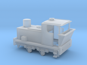 N Gauge 100hp (Pre-War) Sentinel Shunter in Smooth Fine Detail Plastic