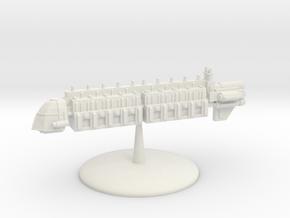 Large Merchant Vessel - 2 in White Natural Versatile Plastic