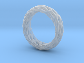 Trous Ring S11 in Smooth Fine Detail Plastic