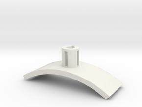 Holder3 in White Natural Versatile Plastic