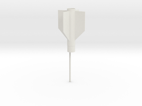 Aim 9 tail BT5 version in White Natural Versatile Plastic