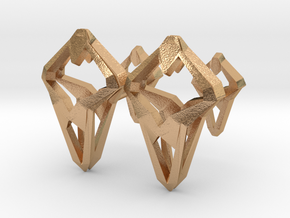 Prototype, Cufflinks. Sharp Chic for Him. in Natural Bronze