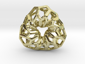 D-STRUCTURA 3T Pendant. in 18k Gold