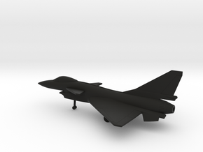 Chengdu J-10A Firebird in Black Natural Versatile Plastic: 1:200