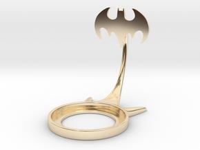 Batman 1992 in 14k Gold Plated Brass