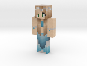 Mermaid Updated Top HB | Minecraft toy in Natural Full Color Sandstone