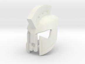 Kanohi Phalanx, Mask of Sparta in White Natural Versatile Plastic