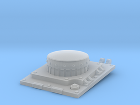 SciFi tank hatch with filter TEST in Smoothest Fine Detail Plastic
