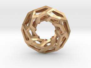 STRUCTURA 360 Sharp Edge, Pendant. Sharp Chic in Natural Bronze