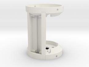 Rudy's HERO V3 saber  Crystal Chamber in White Natural Versatile Plastic