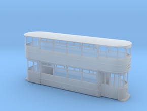Leeds Convert Tram 4mm (Early) in Smooth Fine Detail Plastic