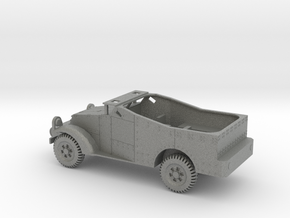 1/100 Scale M3 Scout Car in Gray PA12