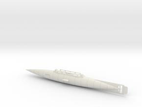 The Nautilus Submarine Version 2 in White Natural Versatile Plastic