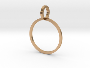 Charm Ring 14.56mm in Polished Bronze
