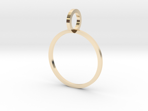 Charm Ring 15.27mm in 14K Yellow Gold