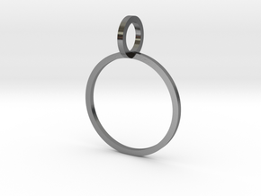 Charm Ring 15.70mm in Polished Silver