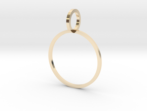 Charm Ring 17.75mm in 14K Yellow Gold