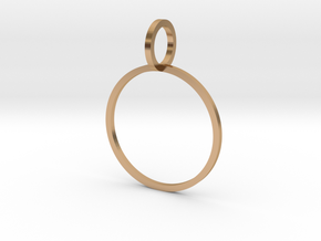 Charm Ring 18.19mm in Polished Bronze