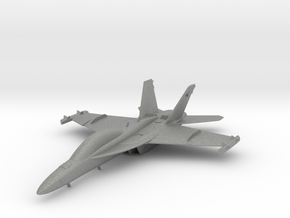 Boeing EA-18G Growler in Gray Professional Plastic