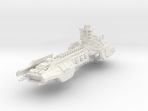 Crucero de Asalto de los Caballeros Grises  in White Natural Versatile Plastic