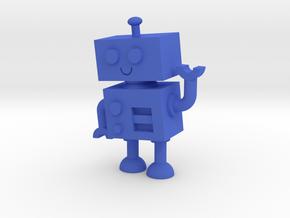 Unboxie in Blue Processed Versatile Plastic