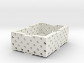 Case + Cover in White Natural Versatile Plastic