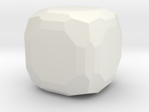 Fluorite 2 in White Natural Versatile Plastic