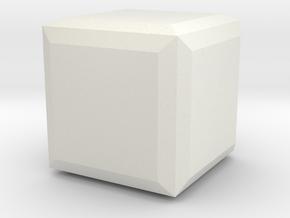 Halite 3 in White Natural Versatile Plastic