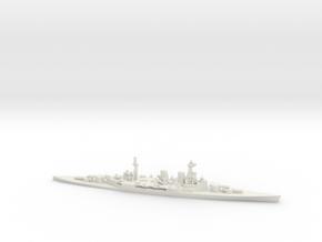 British Admiral-Class Battlecruiser in White Natural Versatile Plastic