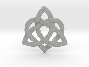 Hearty Knotty Pendant in Aluminum