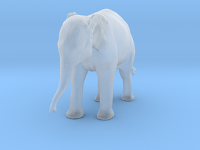Indian Elephant 1:32 Standing Female Calf in Smooth Fine Detail Plastic