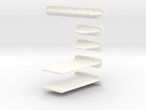 1.4 BAE HAWK ANTENNES COMBO in White Processed Versatile Plastic