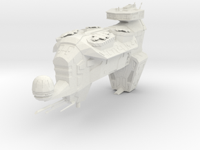 Puppeteer Drone Frigate (WIP) in White Natural Versatile Plastic