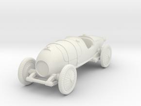 1/87 (HO) Bugatti 29/30 in White Natural Versatile Plastic