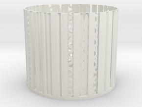 little Storage basket in White Natural Versatile Plastic