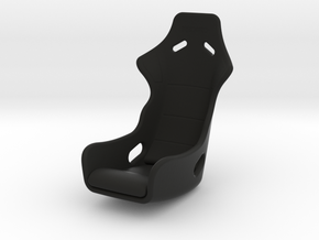 Race Seat Profi SPA Type - 1/12 in Black Natural Versatile Plastic