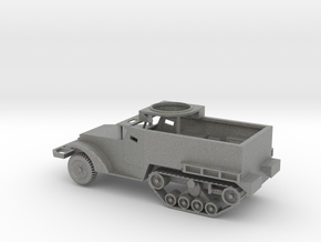1/100 Scale M2A1 Halftrack w Tube in Gray PA12