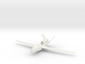 1/144 Scale Global Hawk in White Natural Versatile Plastic