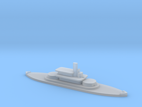 1/1250 HMS Abyssinia (1870) Gaming Model in Smooth Fine Detail Plastic
