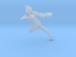 Overwatch Tracer 35mm scale in Smooth Fine Detail Plastic