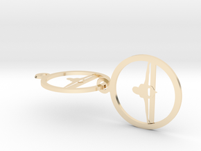 0151yoga (1) in 14k Gold Plated Brass