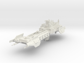 Barcaza de Batalla de los Caballeros Grises in White Natural Versatile Plastic