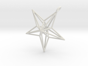 star in White Natural Versatile Plastic