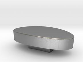 Tensho kashira  3.47 x 1.02 x 1.9 cm in Natural Silver