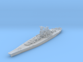Yamato (1945) 1/2400 in Smooth Fine Detail Plastic