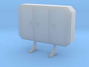 1:24 cabinet headache rack in Smooth Fine Detail Plastic