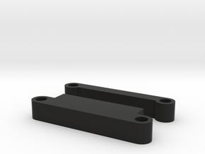"Tamiya M-07 ""Shorty"" Lipo mounts  in Black Natural Versatile Plastic"