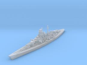 Bismarck 1/2500 in Smooth Fine Detail Plastic