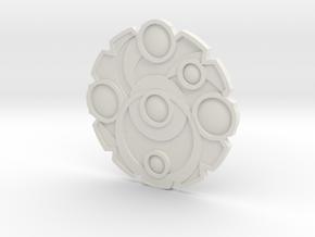 Keyforge Key in White Natural Versatile Plastic
